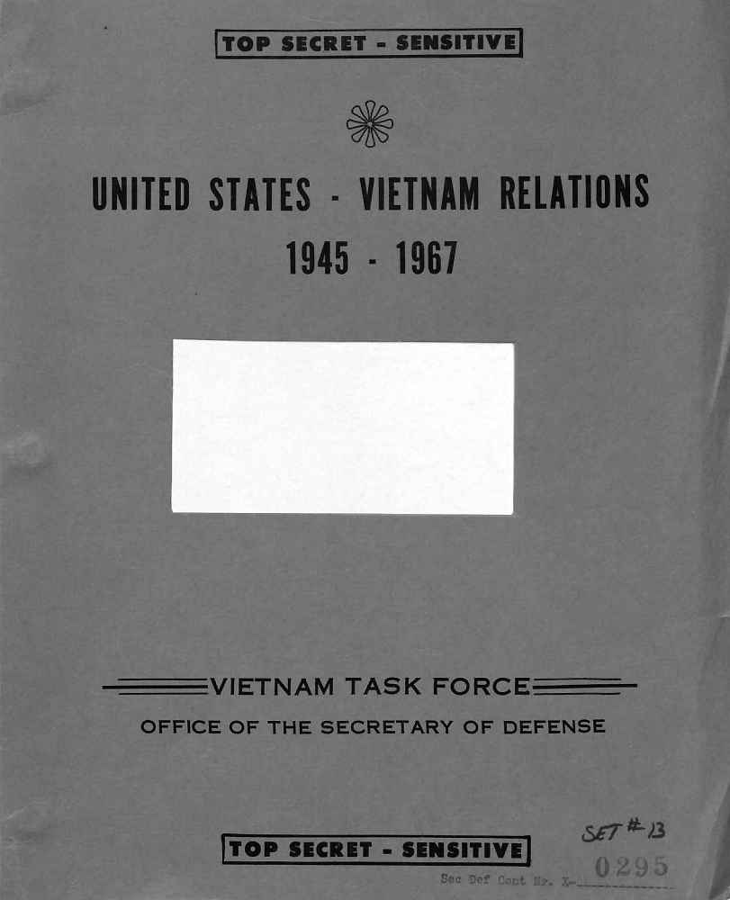 The Pentagon Papers: US-Vietnam Relations 1945-1967