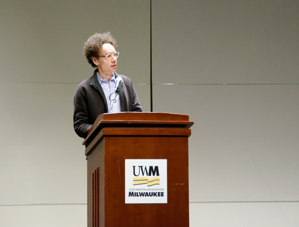 Malcolm Gladwell in Milwaukee